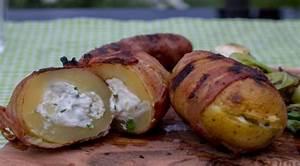 Kartoffeln Lagern Wohnung : gef llte gegrillte kartoffeln ~ Lizthompson.info Haus und Dekorationen