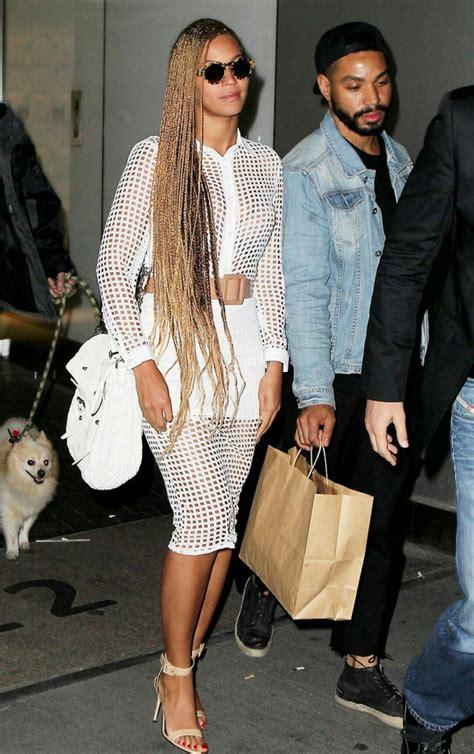 Beyoncé | Braids en 2019 | Beyonce, Curly braids et ...