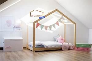 Lit Montessori Cabane : lit cabane avec tiroir gigogne roma blanc avec ou sans ~ Melissatoandfro.com Idées de Décoration