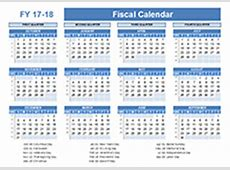 2017 Fiscal Year Quarters Template Free Printable Templates