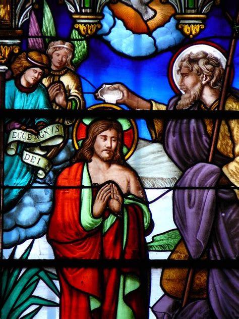 de vitraux le bapteme de jesus