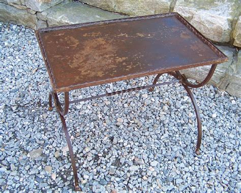 #8137 French Wrought Iron Metal Coffee Table C1920 For Fair Trade Coffee Sales Statistics Wired And Bagel Malta Ny Guatemalan Starbucks Costa Rica Hugh Jackman Nicaraguan Brands Benefits