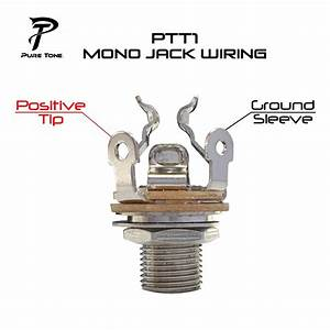 Pure Tone Nickel Mono Multi 4 U2033 Output Jack