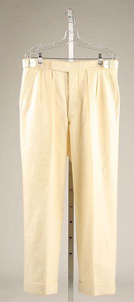 trousers british  metropolitan museum  art