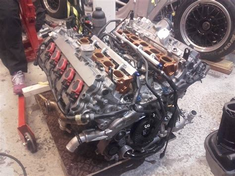 audi r8 motor audi r8 with a turbo v10 engineswapdepot