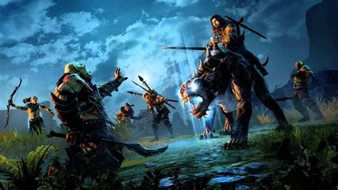 Middle Earth: Shadow of Mordor- Caragor Riding Extended ...
