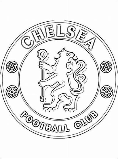 Chelsea Coloring Pages Manchester United Colouring Football