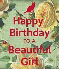 Happy Birthday Beautiful Woman