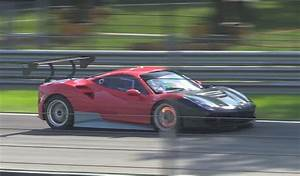 Ferrari 488 Challenge : ferrari 488 challenge car spied on track ~ Medecine-chirurgie-esthetiques.com Avis de Voitures