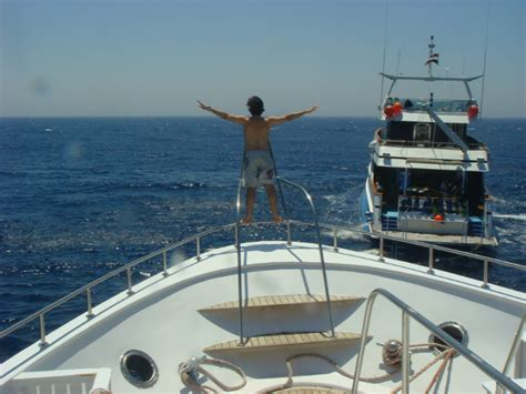 Titanic Boat Pose by Dive Centre And Boats Oceans Divers