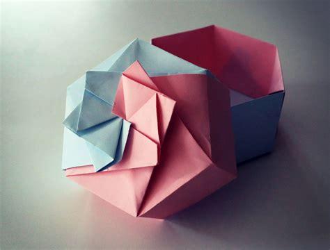 papier cuisine boîte en origami la fabrique diy