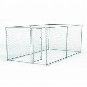 chain link fencing fencing the home depot With chain link dog kennel panels home depot