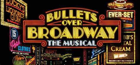 Bullets over Broadway The Musical   Music Theatre ...