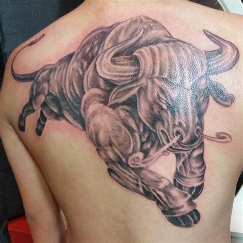 chicago bulls tattoo big bull