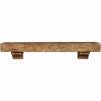 Fireplace Shelf Mantel Shelves Wood Rustic Mantels