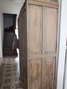 peinture porte bois effet vieilli myqtocom With peinture pour armoire bois