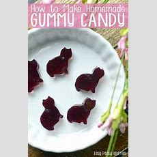 How To Make Gummy Candy  Homemade Grape Gummies  Easy Peasy And Fun