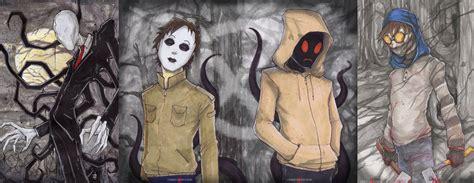 Slenderman Hoodie Masky Ticci Toby Proxies Creepypasta Poster