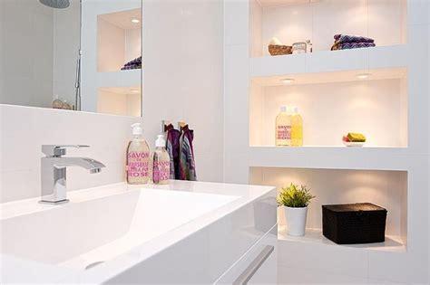 niche de salle de bain niche decoratif dans salle de bains picslovin