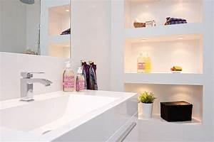 niche decoratif dans salle de bains picslovin With niche de salle de bain