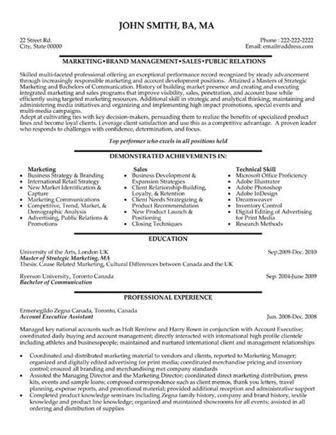 Account Executive Resume by Advertising Account Executive Resume Modern Resume Exle