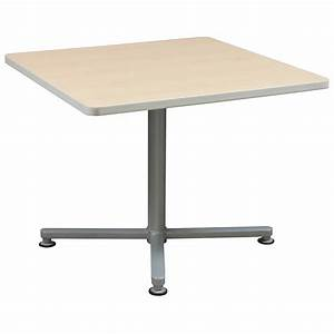 Haworth Square Used 36 Inch Cafe Table, Maple
