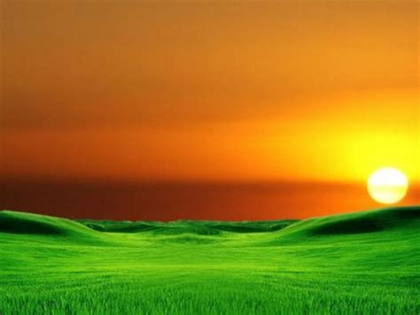 Background Orange And Green Wallpaper by Orange And Green Landscape Sunsets Nature Background