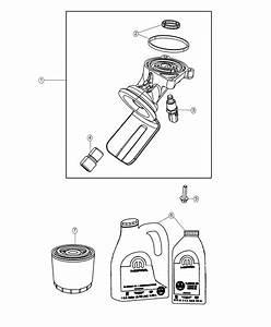 Dodge Durango Adapter  Oil Filter