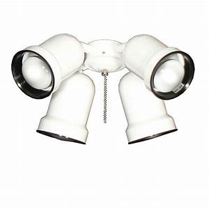 Ceiling spot light kits : Troposair spotlight pure white indoor outdoor ceiling