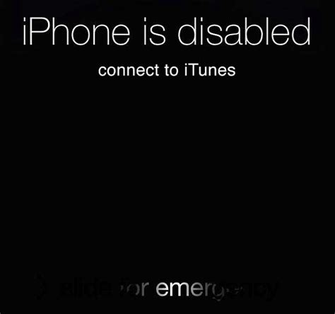 phone is disabled connect to itunes iphone cannot connect to itunes how to fix how to never disable your iphone again with this tweak