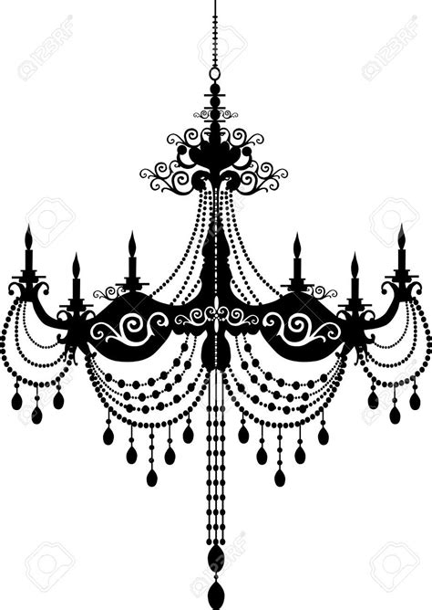 Chandelier Artist by Chandelier Silhouette Search Images