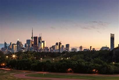 Toronto Skyline Urbantoronto Riverdale Park Attachments