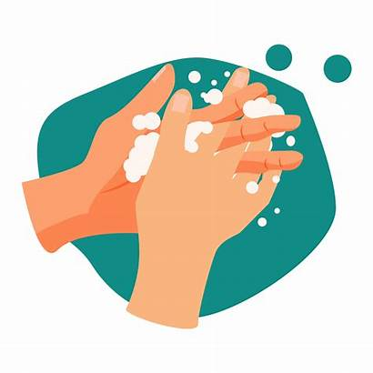 Wash Hands Handwashing Illustration Vector Hand Washing