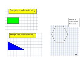 enlargements teaching resources