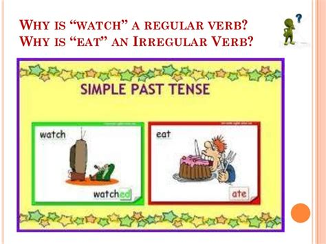 Simple Past Tense Regular And Irregular Verbs