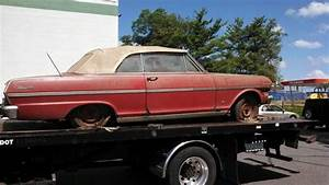Purchase Used    Garage Find    1963 Chevy Nova Ss