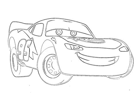 printable lightning mcqueen coloring pages  large images