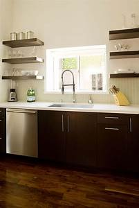 Kitchens, With, Shelves, Instead, Of, Upper, Cabinets, U2013, Goodsgn