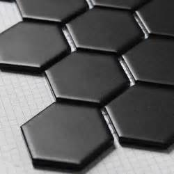 backsplash ceramic tiles for kitchen achetez en gros hexagone carrelage noir en ligne à des