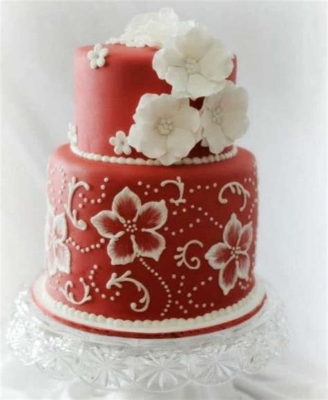 brush embroidery cake flowers  template ideas