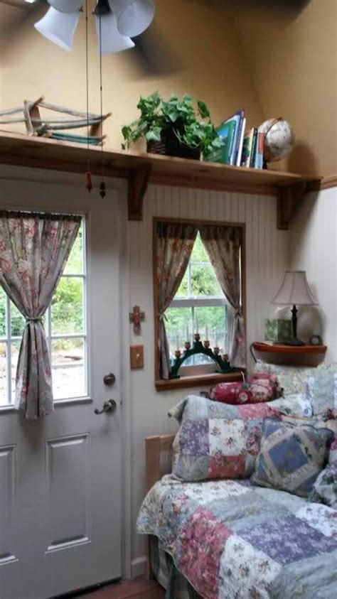 Aging Woman Turns 192 Sq Ft Shed Into Future Tiny Home