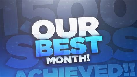Our Best Month Ever!  Thanks For 1500! Youtube
