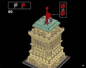 Lego Statue Of Liberty Instructions 21042  Architecture