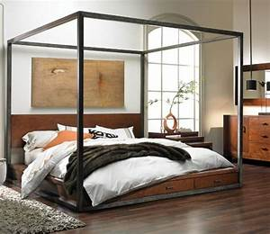 fcf popcorn decorating girls room with two twin beds With modern canopy bed ideas and buying tips