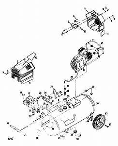 Craftsman Model 919152932 Air Compressor Genuine Parts