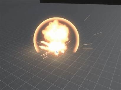 Explosion Fireball Multiple Explosions Instances Artstation