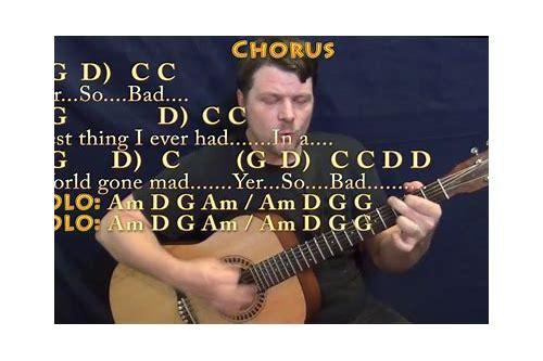 Yer So Bad Guitar Lesson