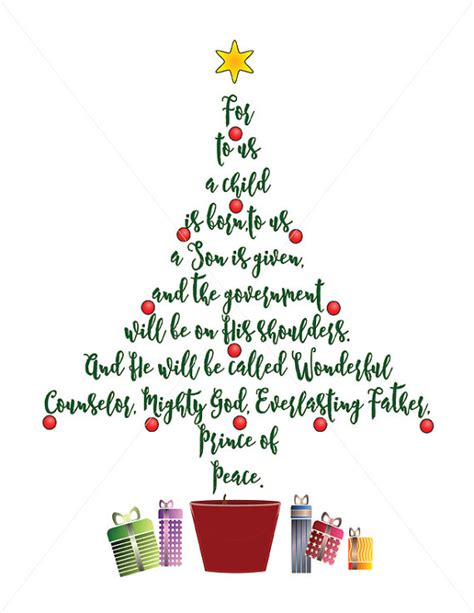 images of christmas trees with scriptures tree scripture card embellishments unto us a child
