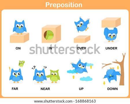 word preschool hard soft rich stock vector