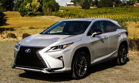 lexus rx  usa colors release date redesign
